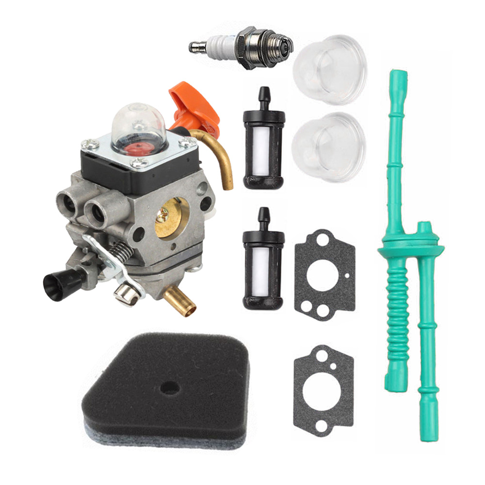 Carburetor Kit For STIHL FS100 FS100R FS110 FS110R FS110X FS110RX FS100RX FS130Carburetor Kit For STIHL FS100 FS100R FS110 FS110R FS110X FS110RX FS100RX FS130