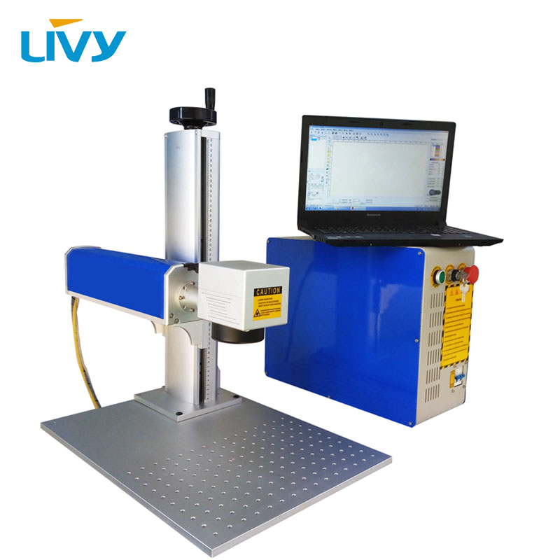 CNCLIVY 20W 30W 50W fiber laser metal marking machine DIY ...