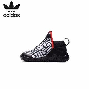 Adidas enfants chaussures Original 2019 nouveau modèle enfants chaussures de course sport baskets de plein air # AH2579