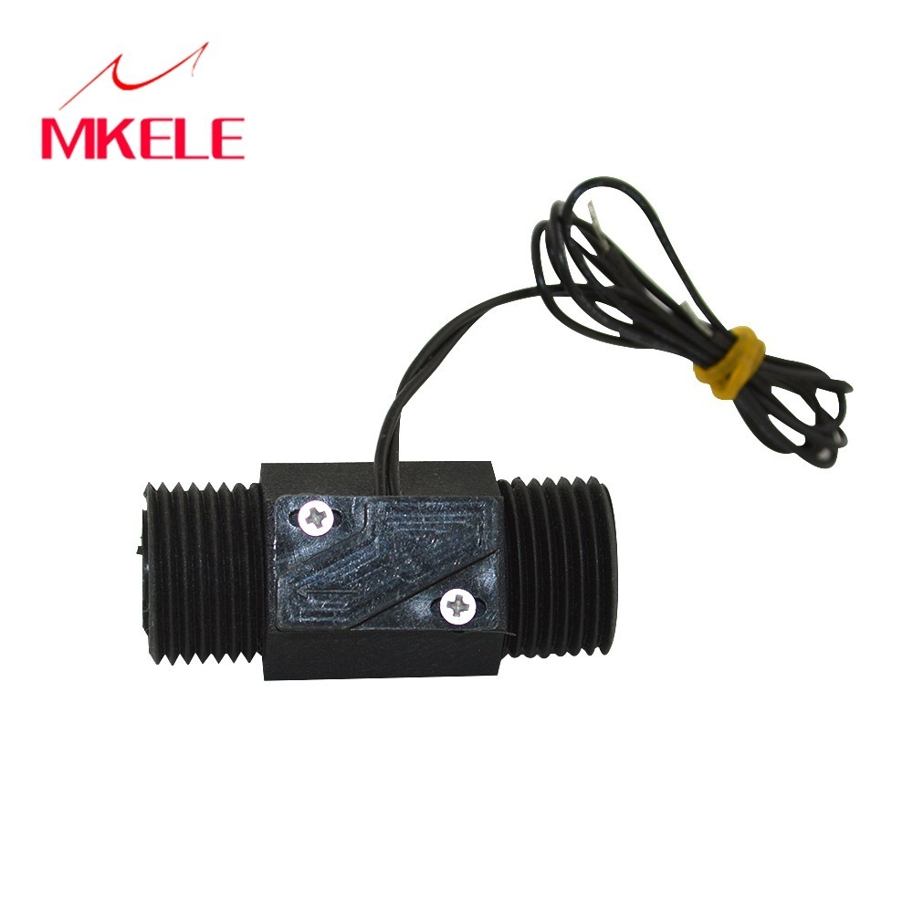 MKELE  MK-PFS4 Water Flow Controller/switch Sensor White Color Plastic Controller Switch Free Shipping