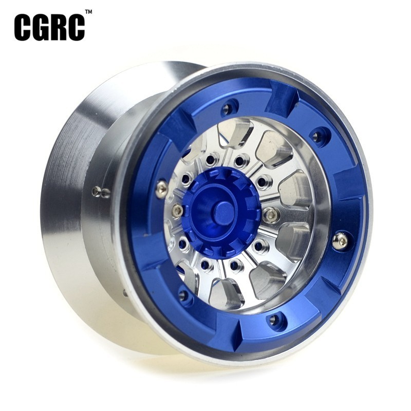 4pcs Metal 2.2inch Beadlock Wheels Hub Rim For 1/10 RC Crawler Car Traxxas TRX4 Bronco D90 D110 Axial Scx10 90046 RC4WD CCO1 TF24pcs Metal 2.2inch Beadlock Wheels Hub Rim For 1/10 RC Crawler Car Traxxas TRX4 Bronco D90 D110 Axial Scx10 90046 RC4WD CCO1 TF2