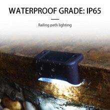 Светодиодный Современный садовый Ночной светильник энергосберегающий светильник на открытом воздухе водонепроницаемый на солнечных батареях прочный путь