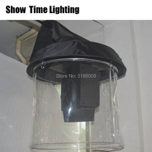 Hot sale 1pcs/lot Beam 380 Rain Cover Stage Light Snow Coat Moving Waterproof Covers With Transparent Crystal Plastic
