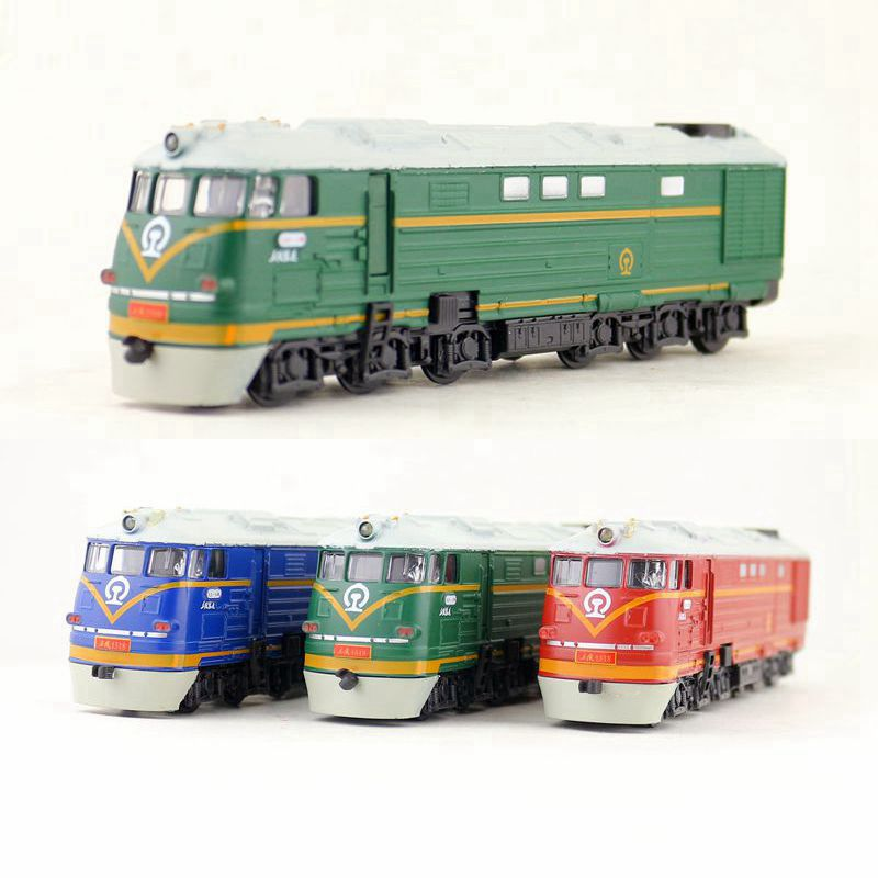 Toys & Hobbies Diecast Metal Toy/sound & Light Pull Back Educational Car/1:87 Classical China 7246 Train/for Childrens Gift Or Collection