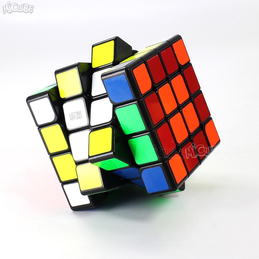 Moyu Aosu GTS2M GTS2 M 4x4x4 Cube magnétique vitesse Puzzle Cubo Magico 4x4 Aosu GTS V2 M pour jouet enfant noir sans autocollant professionnel - 6