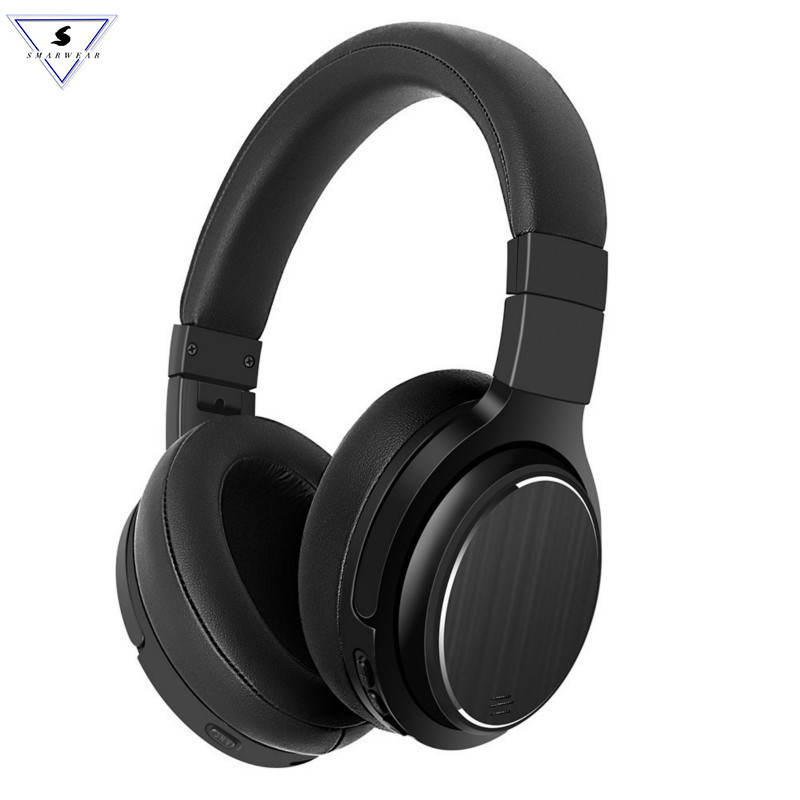 New Design Wirless ANC Headphones Bluetooth Active Noise Cancelling Headphone Headset With Mic For Answer Call Phone Music Play