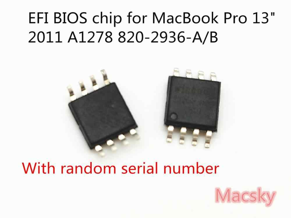 "BIOS EFI chip for MacBook Pro 13"" 2011 A1278 820-2936-A 820-2936-B Programmed Free Shipping MC700 MC724 MD313 MD314"