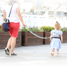 1.5-2.5 Anti Lost Wrist Link Toddler Leash Safety Harness for Baby Strap Rope Outdoor Walking Hand Belt Band Anti-lost Wristband