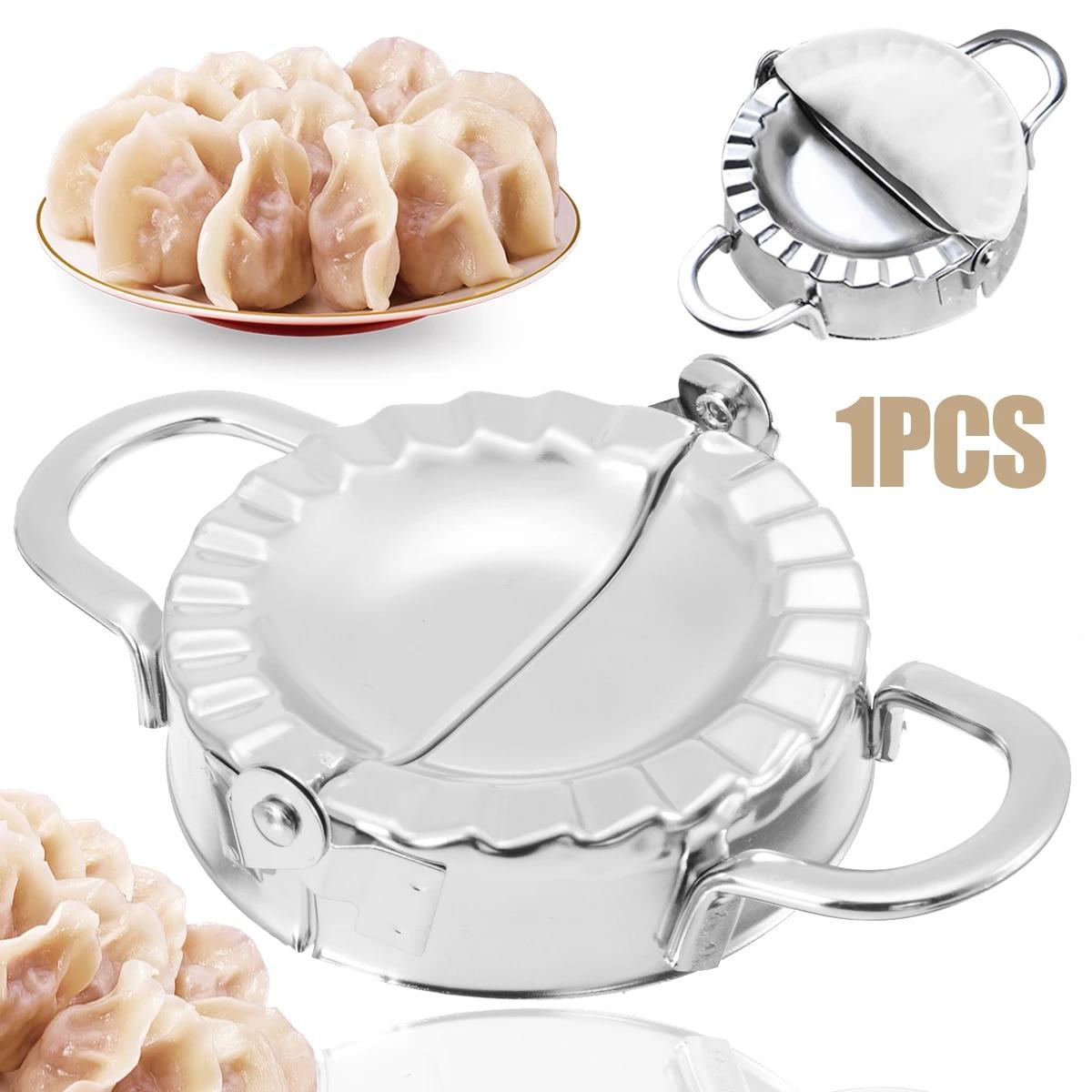 Stainless Steel Dumpling Maker Machine Wraper Dough Cutter Eco-Friendly Tool Set