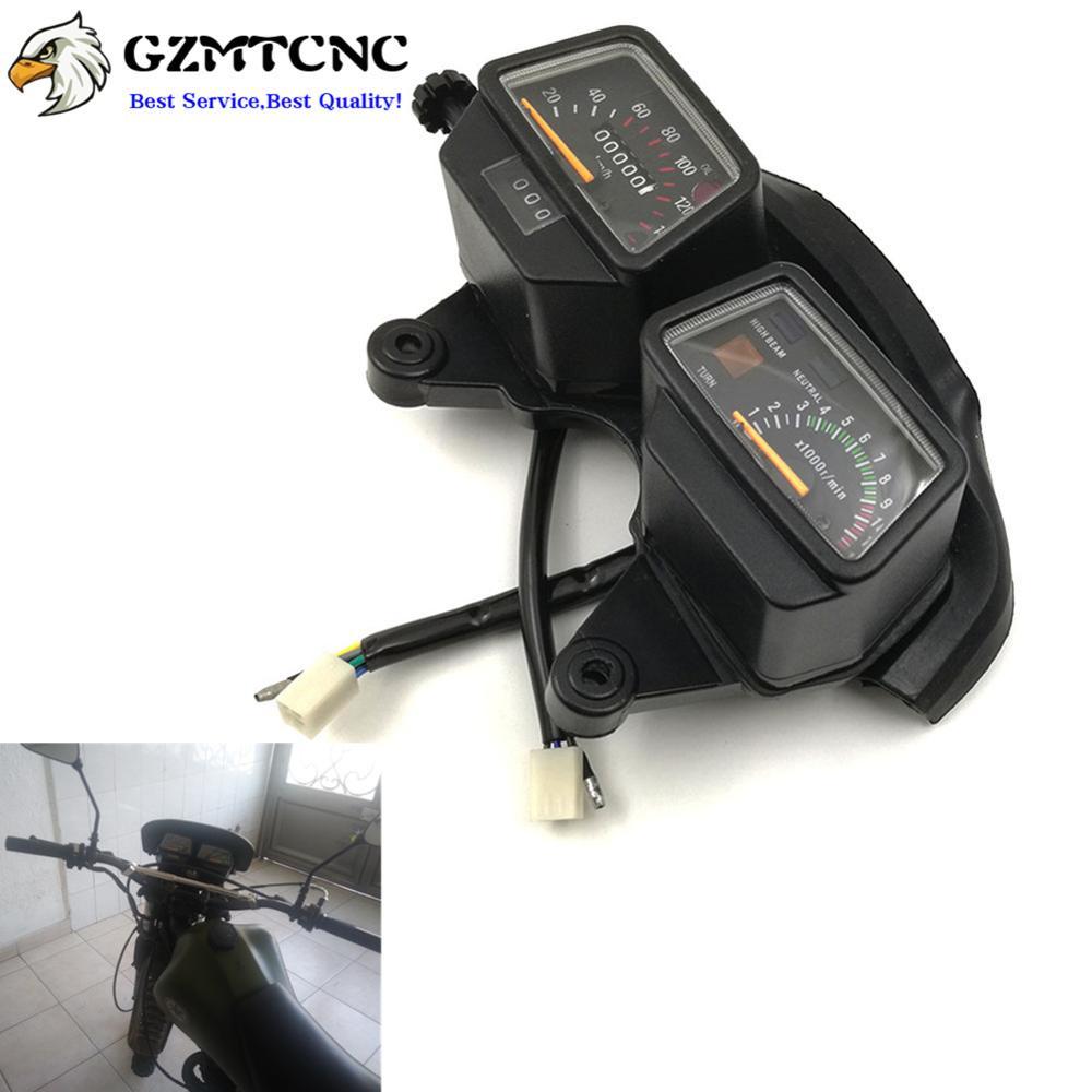 DT125 DT125R Speedometer Kilometer Odometer Mechanical Gauge Tachometer Instrument km/h for Yamaha ENDURO DT125 R DT 125R