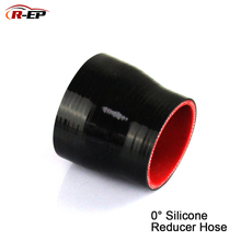 R-EP Car Air Intake Silcone Tube 1.5-2inch 2.5-3inch 38-51mm 51-63mm Straight Reducer Hose For Turbo Superchargers Universal
