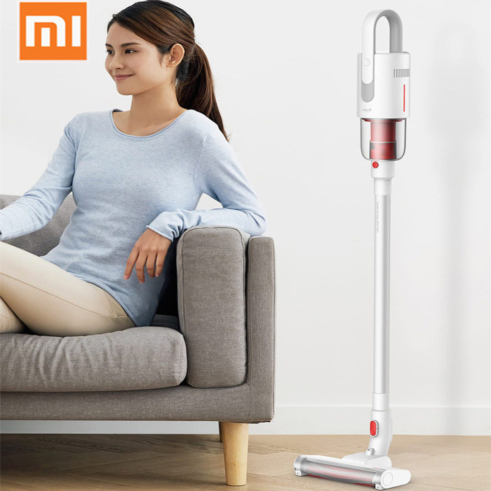 Xiaomi Deerma VC20S Cordless Vacuum Cleaner Household Auto Vertical Handheld Stick Aspirator Vacuum Cleaners 5500Pa For