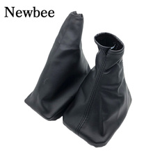 Car Hand Brake Gear Shift Knob Gaiter Leather Boot Cover For