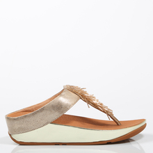 bb04c0c4 FITFLOP SANDALIAS CHA CHA GOLD SHIMMER K27-563 Oro Piel Mujer - Gold FLIPS  FLOPS