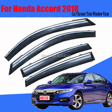 Car Sun Visor Window Rain Shade for Plastic Accessories For Honda Accord 2018