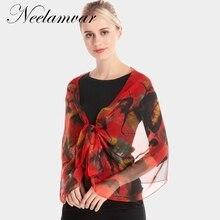 Neelamvar 2018 Scarf Chiffon Spring And Autumn Rose Women Silk Luxury Brand Ladies oblong shawls echarpes wholesale