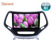 Seicane 10.1 Android 8.1 GPS Multimedia Player Car Radio For 2016 Jeep Grand Cherokee 2Din Touchscreen Head Unit Mirror Link