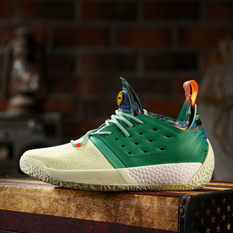 d4a3d39baf2 Mahadeng Basketball Shoes boost Harden Vol.2 B28106 Vision Sports sneakers  green white Size 40 46-in Basketball Shoes from Sports   Entertainment on  ...
