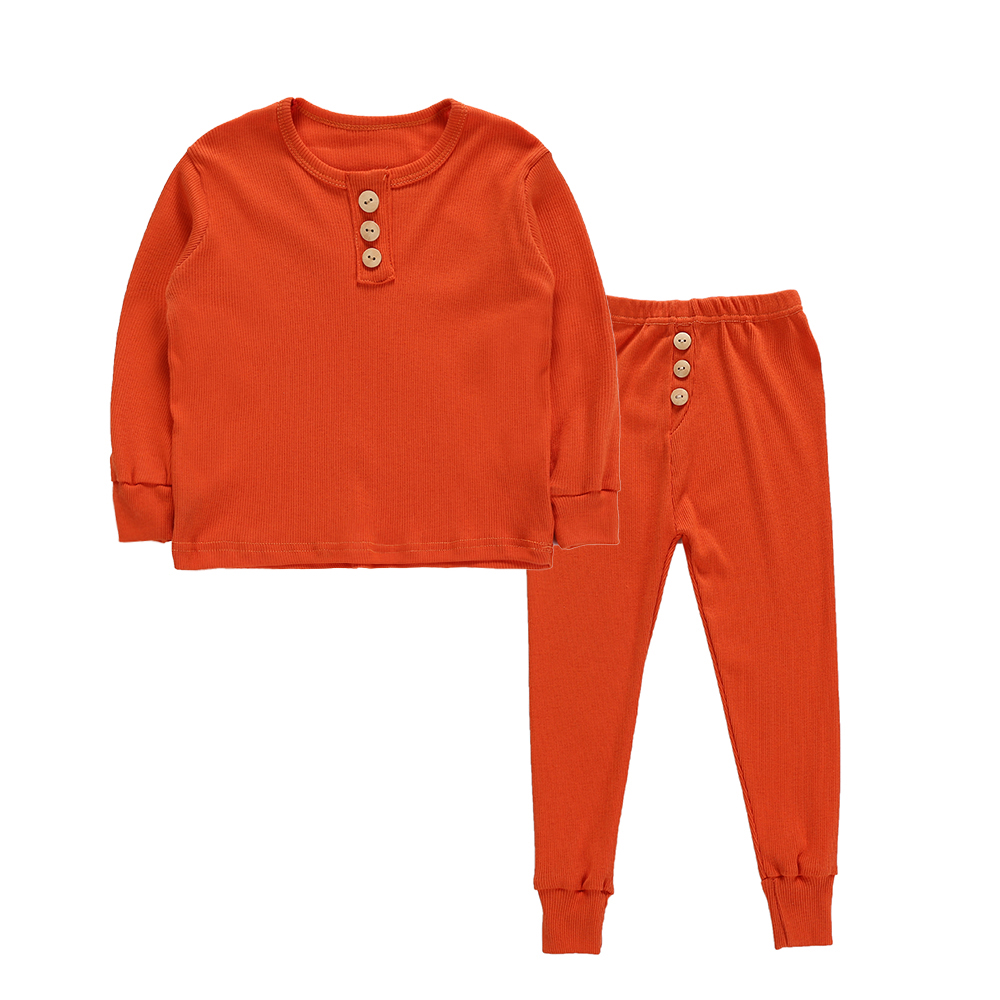 Winter 2PCS Toddler Kids Girl Boy   Pajama     Set   Casual Sleepwear Nightwear Home Clothes   Sets   Tracksuit 1-6Y