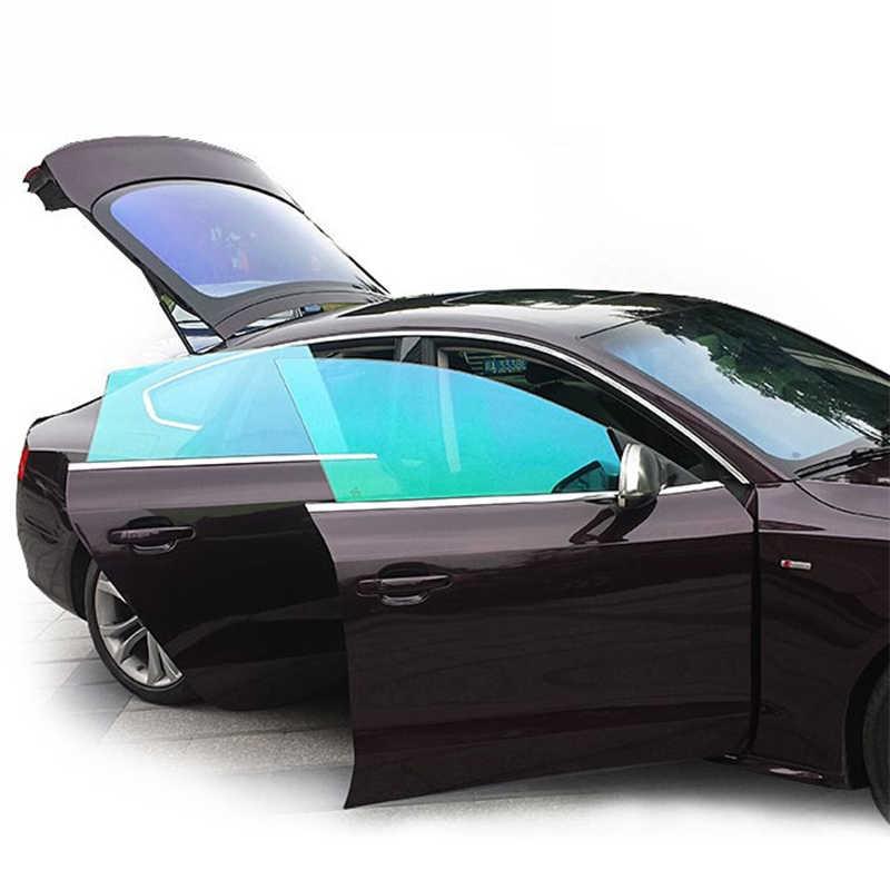 50 سنتيمتر X 300 سنتيمتر VLT50 ٪ IR90 ٪ الشمسية فيلم الحرارة تغيير لون زجاج عليه طبقة غشاء رقيقة سيارة الحرباء فيلم