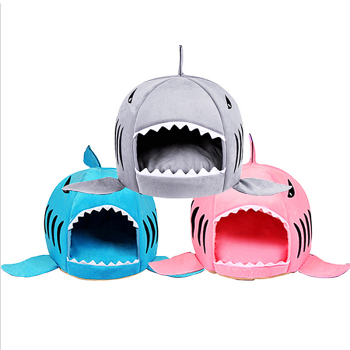 Shark Shaped House for Cats 3