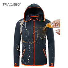 THE ARCTIC LIGHT Outdoor Fishing Clothing Hooded Ice silk Men Jacket Quick-Drying Coat Shirt For Camping Hiking Cycling