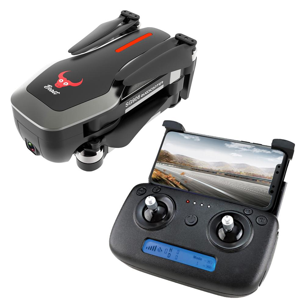 RCtown ZLRC Beast SG906 GPS 5G WIFI FPV With 4K Ultra clear Camera Brushless Selfie Foldable RC Drone Quadcopter RTF  - buy with discount