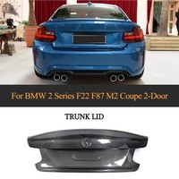 Carbon Fiber Rear Trunk For BMW F22 F87 M2 Base Coupe M Sport 2 Door 2014 2018 Car Rear Boot