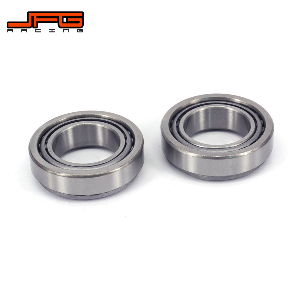 Motorcycle 2PCS 30*51*15MM Tapered Roller Bearings For HONDA CR125R 93-07 CR250R 92-07 CRF250R 04-09 <font><b>CRF250X</b></font> CRF450R CRF450X image