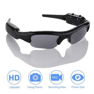 Image 1 - DVR משקפי שמש מצלמה אור משקל מיני DV וידאו מקליט TF מיני Eyewear מיני מצלמה משקפי שמש באיכות גבוהה