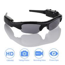 DVR النظارات الشمسية كاميرا خفيفة الوزن البسيطة DV مسجل فيديو TF البسيطة نظارات البسيطة كاميرا النظارات الشمسية عالية الجودة