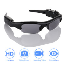 DVR Sunglasses Camera Light weight Mini DV Video Recorder TF Mini Eyewear Mini Camera Sunglasses High Quality