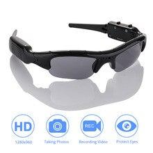 DVR Zonnebril Camera lichtgewicht Mini DV Video Recorder TF Mini Eyewear Mini Camera Zonnebril Hoge Kwaliteit