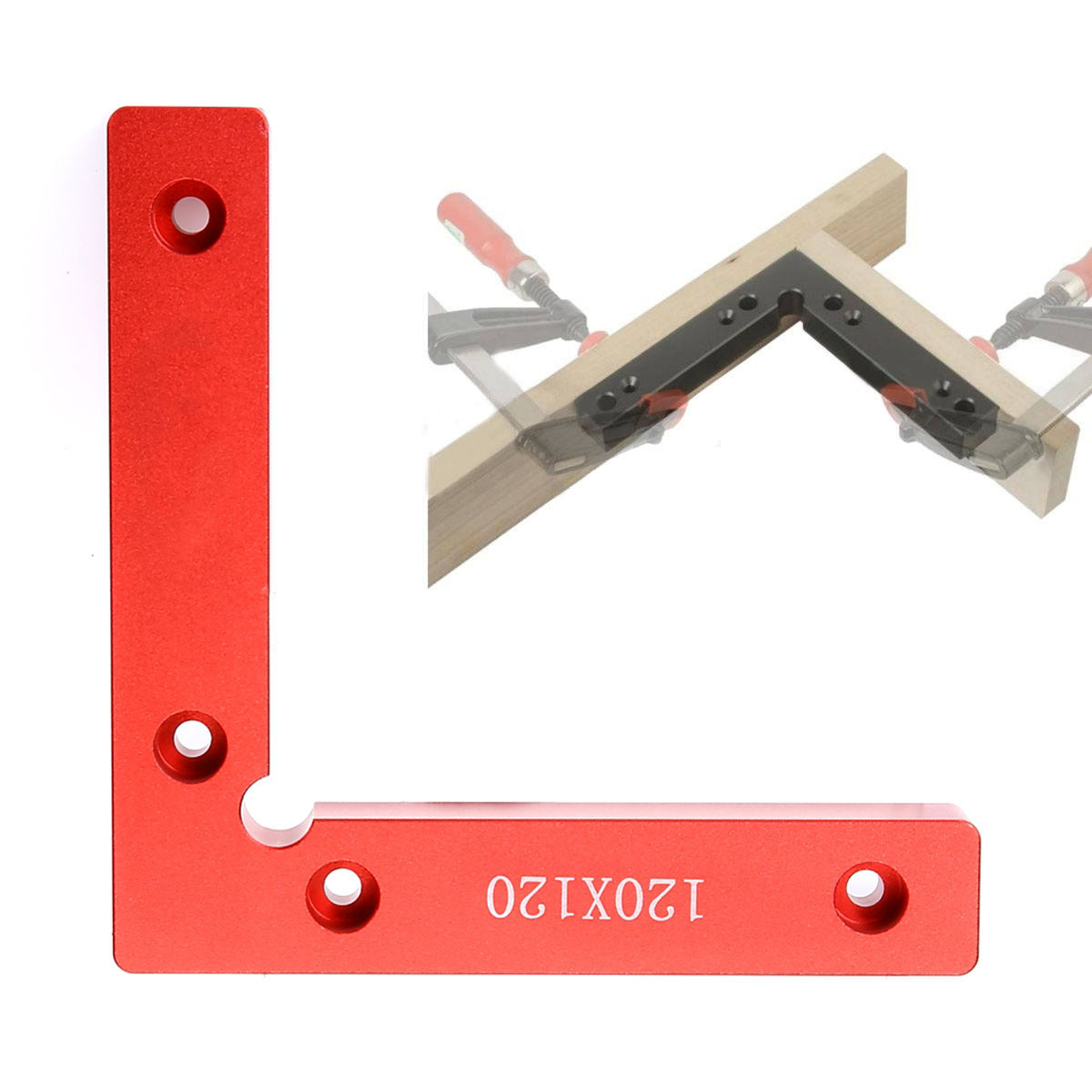 Mayitr L Shape Corner Clamp High Quality Wood Metal Right Angle 90 Degree Weld Welding Red NewMayitr L Shape Corner Clamp High Quality Wood Metal Right Angle 90 Degree Weld Welding Red New