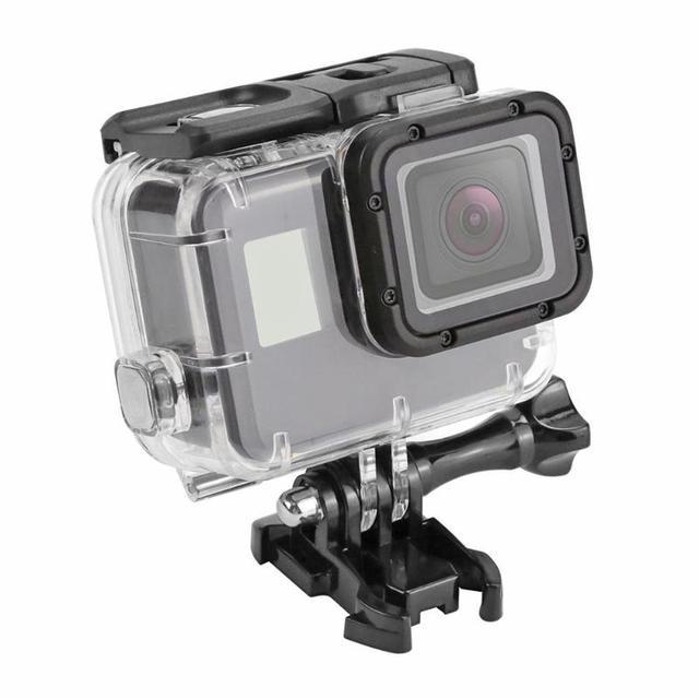 40 متر تحت الماء مقاوم للماء ل GoPro بطل 7 5 6 أسود عمل كاميرا واقية الإسكان غطاء شل الإطار ل GoPro الإكسسوارات