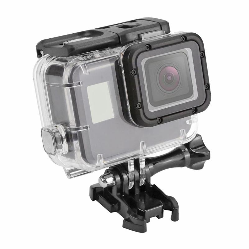 40m Underwater Waterproof Case for GoPro Hero 7 5 6 Black Action Camera Protective Housing Cover Shell Frame for GoPro Accessery(China)