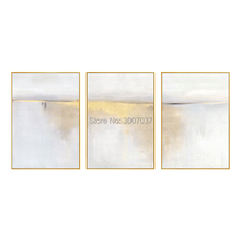 Best Selling Pure Hand-painted golden Textured Abstract Oil Painting on Canvas Pop Fine Art with Gold Foil