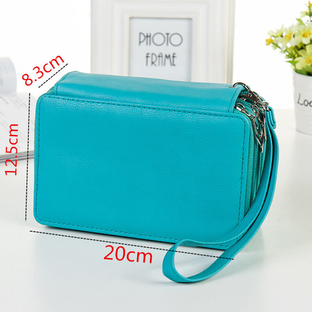 Beautiful First 4 Pencil Box Will Capacity Skin Pen Bag 72 Hole Pen Curtain Student Pencil Bag Paint Brush Stationery WJ-HD38 secret garden defence fall sketch color pencil cases for girls bag will capacity stationery case beautiful fine arts wj hd24