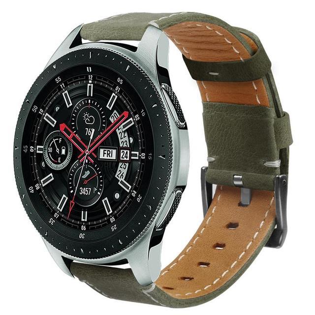 סיליקון רך רצועת החלפת יד צמיד להקת עור רצועת השעון אביזרי לסמסונג גלקסי שעון 46mm SM R800 גרסה