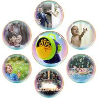 Machine Durable Automatic Bubble Fan for Girl Boy Easy to Use Bubble Toy Bubble Blower for Kids 500 Bubbles Per Minute