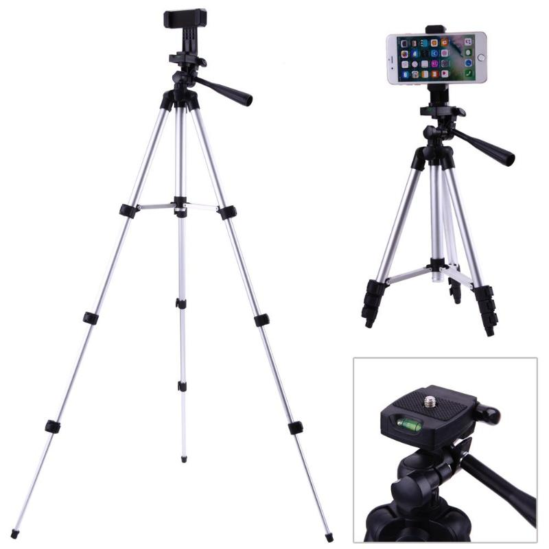 Professional Foldable Camera Tripod Holder Stand With 1/4