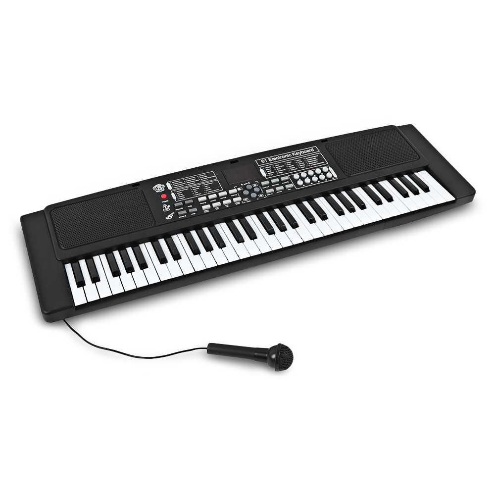 61 touches Électroniques Piano Clavier avec Microphone Jouets Instrument de musique Éducation Organes Musique Jouets Enfants Apprenant Tôt le Jouet