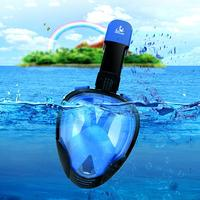 SMACO Breathable Anti UV Anti Sun Full Face Underwater Diving Snorkeling Mask