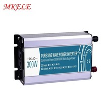 12VDC 300w Inverter To 110VAC MKP300-121 Voltage Pure Sine Wave Solar Power Converter Off Grid Electric Power Inversor whm 600 121 car converter usb 12vdc 110vac 600w dc to ac power inverter