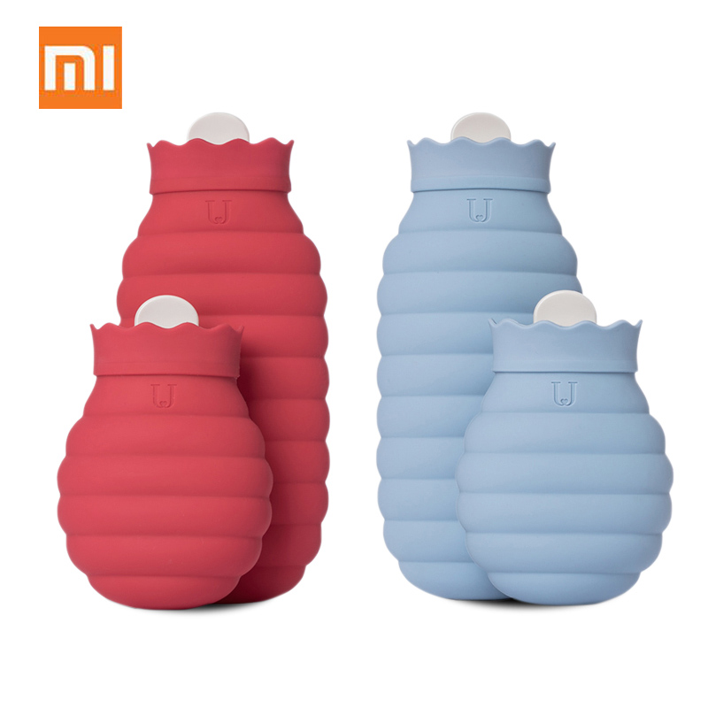 Xiaomi Portable Silicone Microwave Heating Hot Water Bag Winter Hand Warmer With Textile Cover Cold Ice Water BagsXiaomi Portable Silicone Microwave Heating Hot Water Bag Winter Hand Warmer With Textile Cover Cold Ice Water Bags