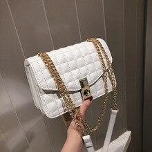 Female Crossbody Bags For Women 2019 High Quality PU Leather Famous Brand Luxury Handbag Designer Sac Ladies Chains Shoulder Bag все цены