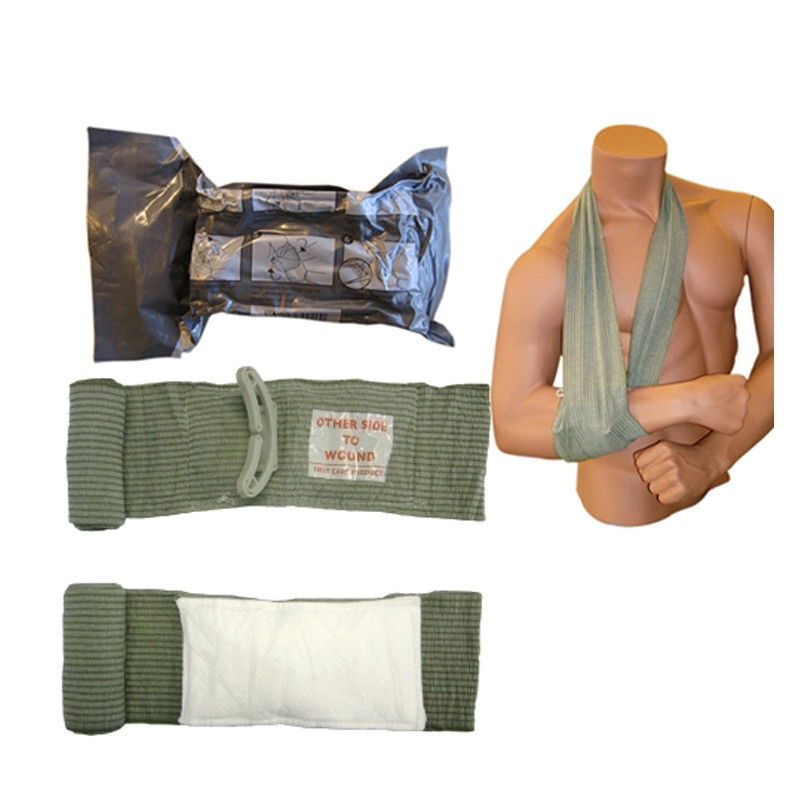 6 Inch Israel First Aid Hemostasis Emergency Elastic Bandage Sterilization Outdoor Urgent Tactics Rescue Tactical Bandage