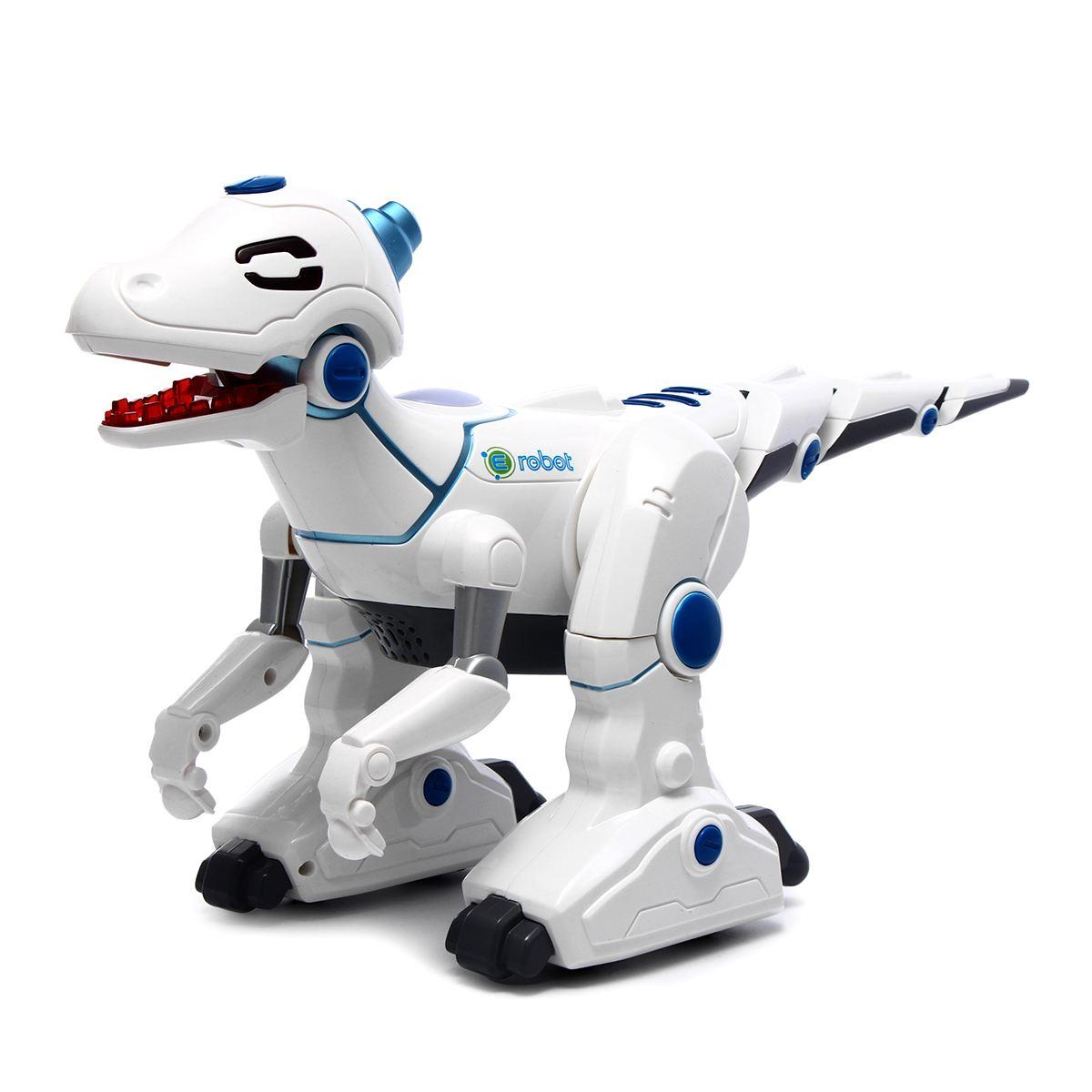 Smart Dinosaur Robot Electronic Remote Control Walking Singing Dancing Sound Light Toys Educational Toys Children Christmas Gift