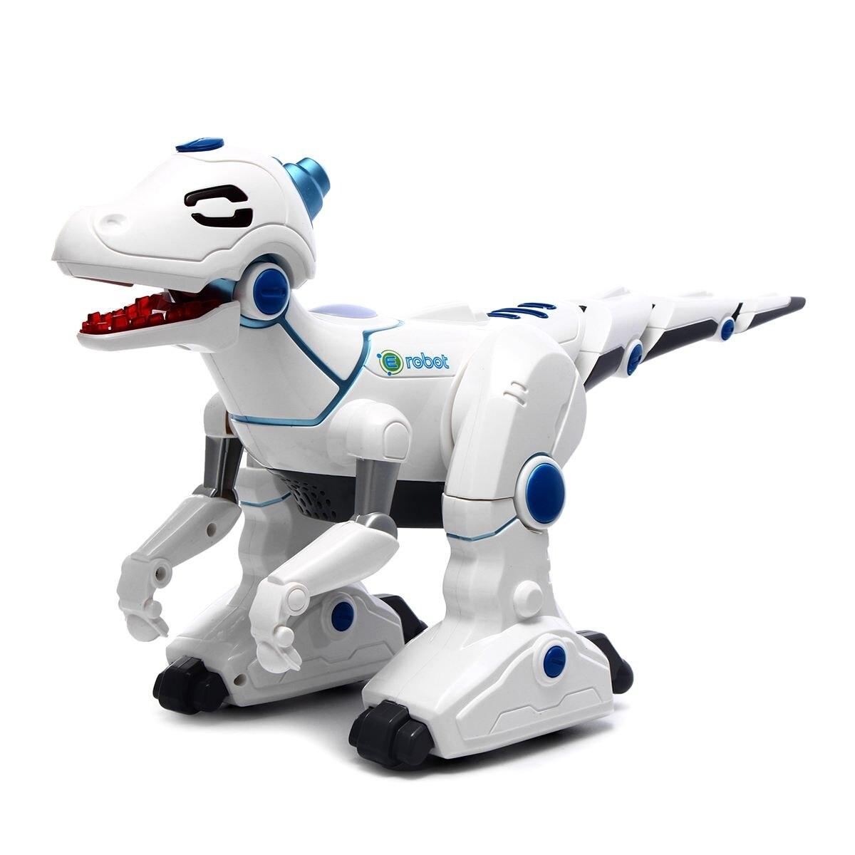 Smart Dinosaure Robot Électronique Télécommande Marche Chant Danse Sound Light Jouets Jouets Éducatifs Enfants Cadeau De Noël