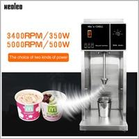 XEOLEO Ice cream mixer 3400rpm Milkshaker 350W Milk shaking machine MC Flurry Ice cream maker Stepless Adjust Blizzard machine